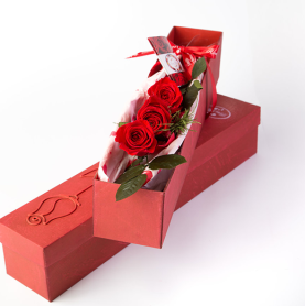Rose deluxe rote box